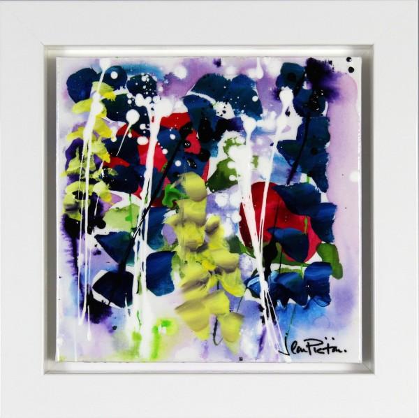 Jean Picton_Original on Canvas_Hidden Love_framed 16x16