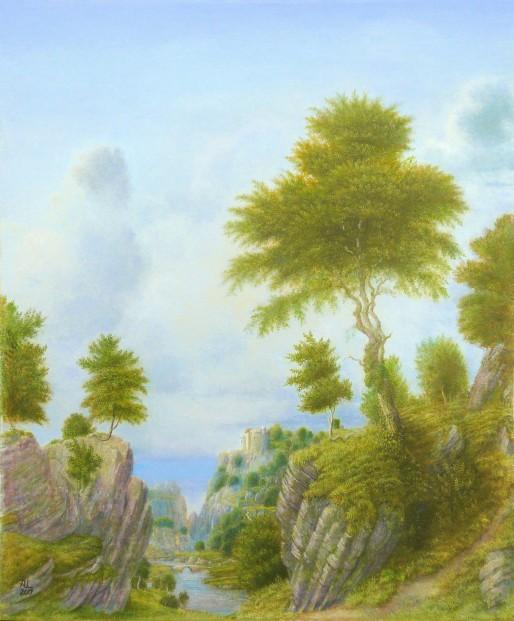 'Mannerist' Landscape