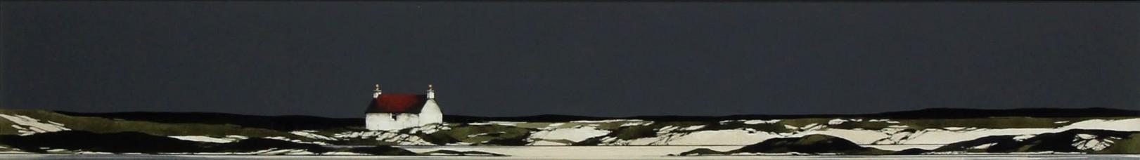Ron Lawson _Original_Watercolour and Gouache_Arisaig Coast_image 6x38.5