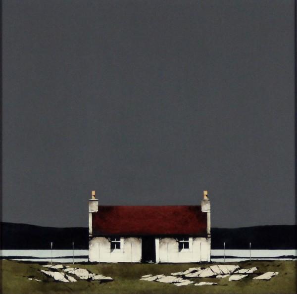 Ron Lawson _Original_Watercolour and Gouache_Barra Cottage_image 10x10
