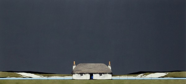 Ron Lawson _Original_Watercolour and Gouache_Croft House _image 24x38.5