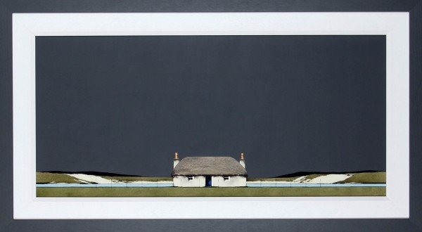 Ron Lawson _Original_Watercolour and Gouache_Croft House _image 24x38.5_Framed 33 x47(1)