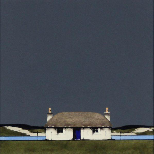 Ron Lawson _Original_Watercolour and Gouache_Hebridean Blue_image 10x10_