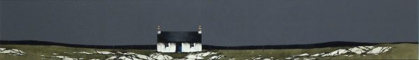 Ron Lawson _Original_Watercolour and Gouache_North Uist Cottage_image 6x38.5_(2)