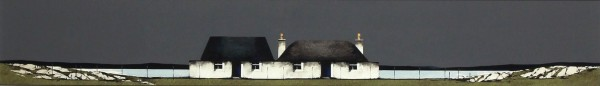 Ron Lawson _Original_Watercolour and Gouache_Tiree Cottage, balevullin_image 6x38.5