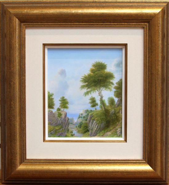 mannerist landscape framed