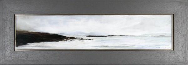 Fiona Haldane_Original_Pastels_Far Islands, Sanna Bay_Fmd 15 x 43 (2)