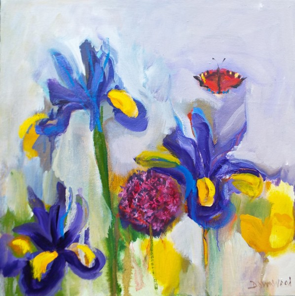 Irises and Tortoiseshell