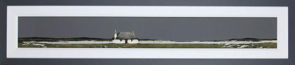 Ron Lawson_Original_Watercolour and Gouache_Lochboisdale_image 7x59_framed 15x59 (1)