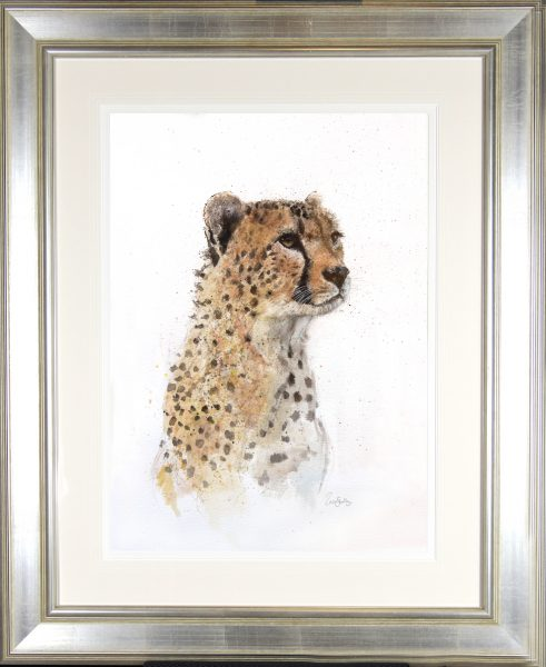 Zaza Shelley_Original_wcolour_African Majesty I_37x45 fmd