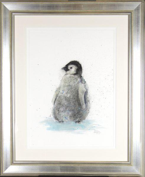 Zaza Shelley_Original_wcolour_Penguin_37x45 fmd