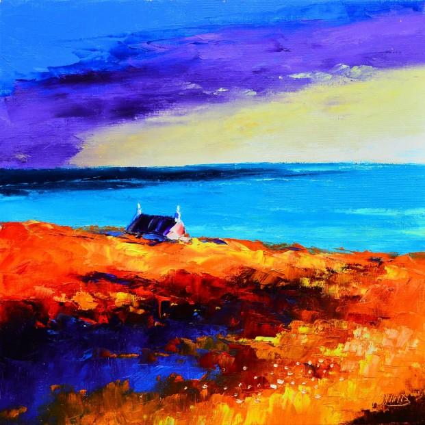 5.Autumn Sunset, East Bays,   Harris