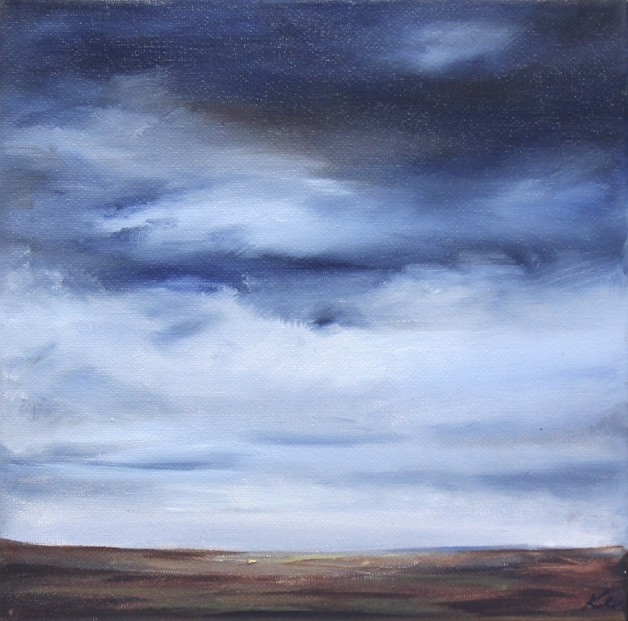 Kate Cunningham_Original Oils_Moorland_8x8