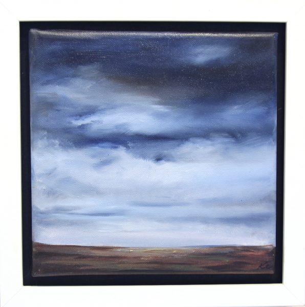 Kate Cunningham_Original Oils_Moorland_8x8_10x10