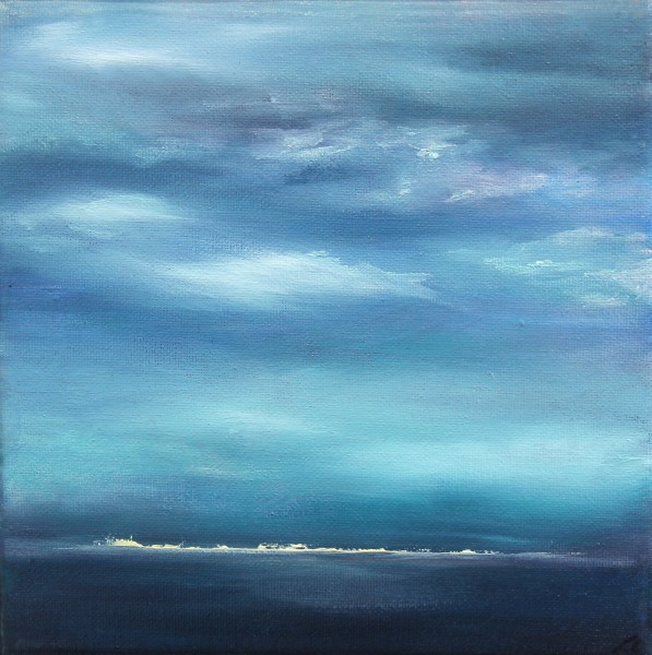 Kate Cunningham_Original_Oils_Horizon_8x8