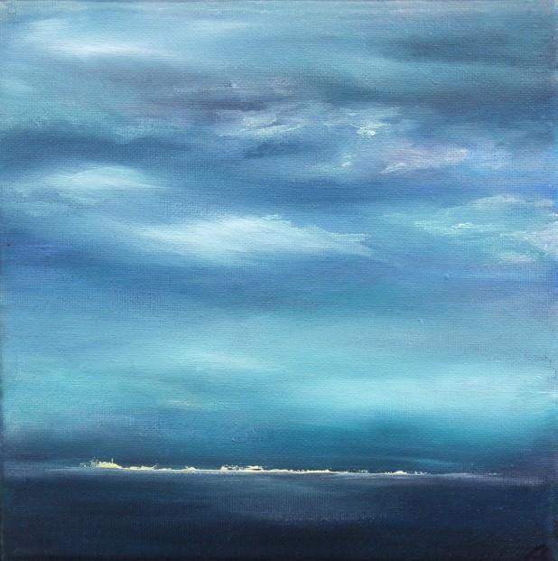 Kate Cunningham_Original_Oils_Horizon_8x8
