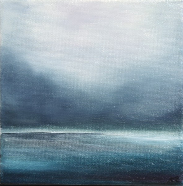 Kate Cunningham_Original_Oils_Out to Sea I_8x8