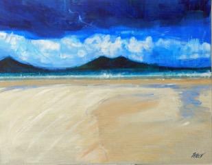 Across the Sand, Taransay