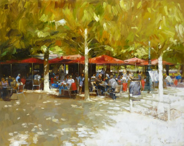 01.Jack Morrocco_Original_ Oil on Canvas_JardindesTuileries086_40x60
