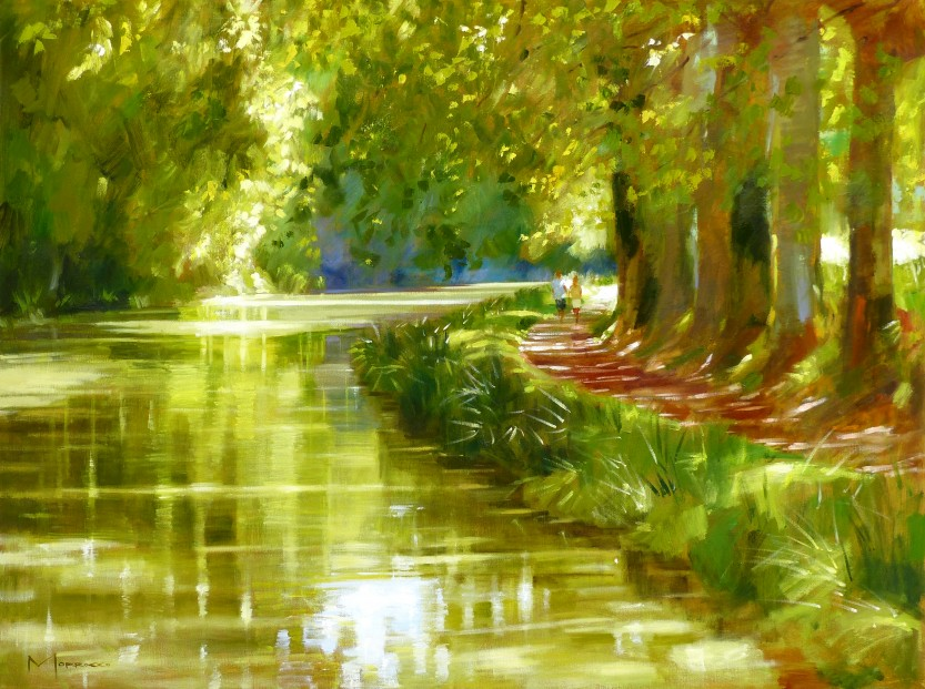 02.Jack Morrocco_Original_ Oil on Canvas_CanalduMidi0875 30x40