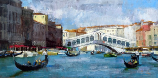 08.Jack Morrocco_Original_ Oil on Canvas_Rialto0861 20x40