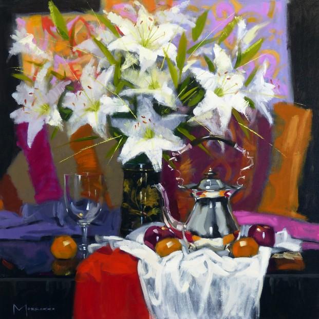 12.Jack Morrocco_Original_ Oil on Canvas_Teakettle0912 28x28