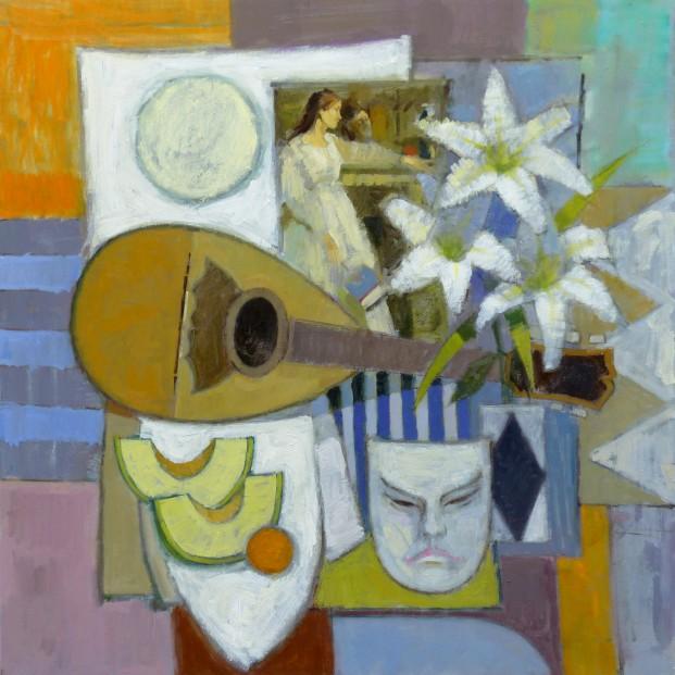 14.Jack Morrocco_Original_ Oil on Canvas_Symphony20857 28x28