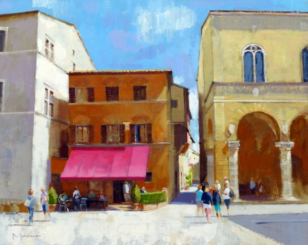 15.Jack Morrocco_Original_ Oil on Canvas_Pienza0257 24x30