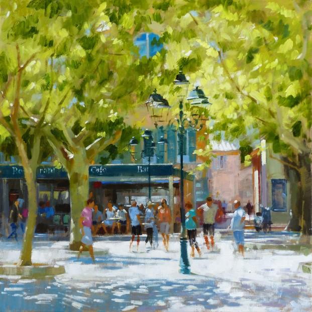 18.Jack Morrocco_Original_ Oil on Canvas_St Tropez087 24x24