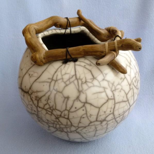 2. Rounded handbuilt pot