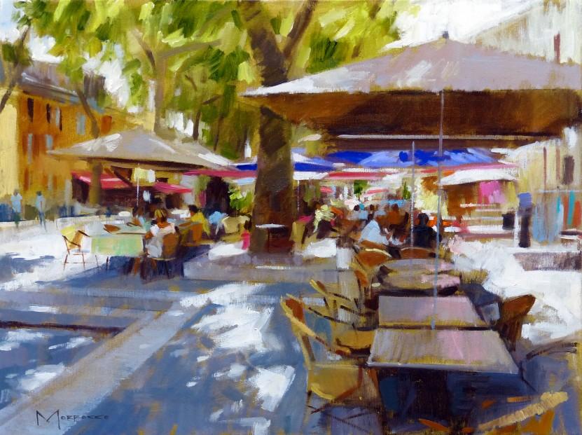 24.Jack Morrocco_Original_ Oil on Canvas_Cotignac0762 18x24