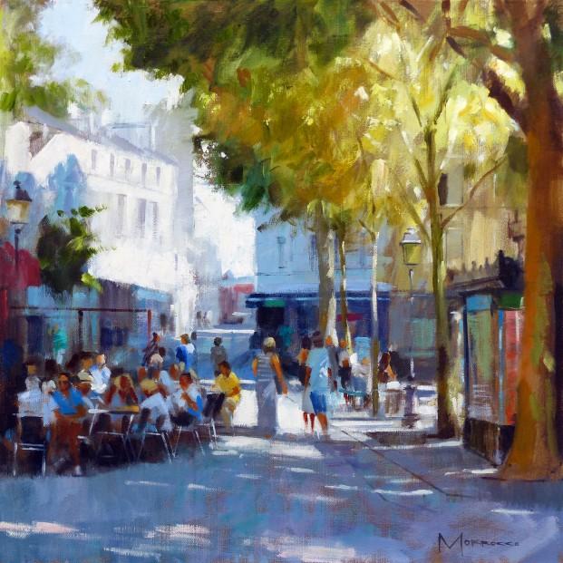 26.Jack Morrocco_Original_ Oil on Canvas_Montmartre II 0911 20x20
