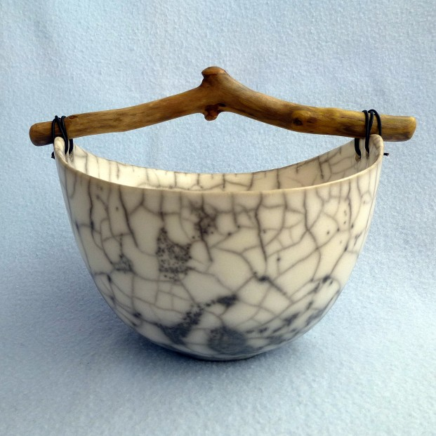 3. large crackle bowl