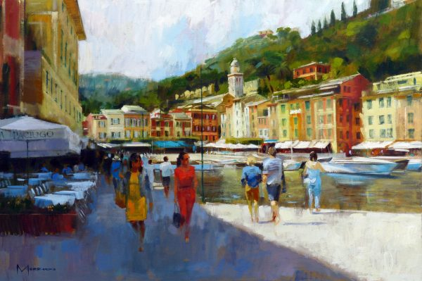 05.Jack Morrocco_Original_ Oil on Canvas_Portofino_24x36