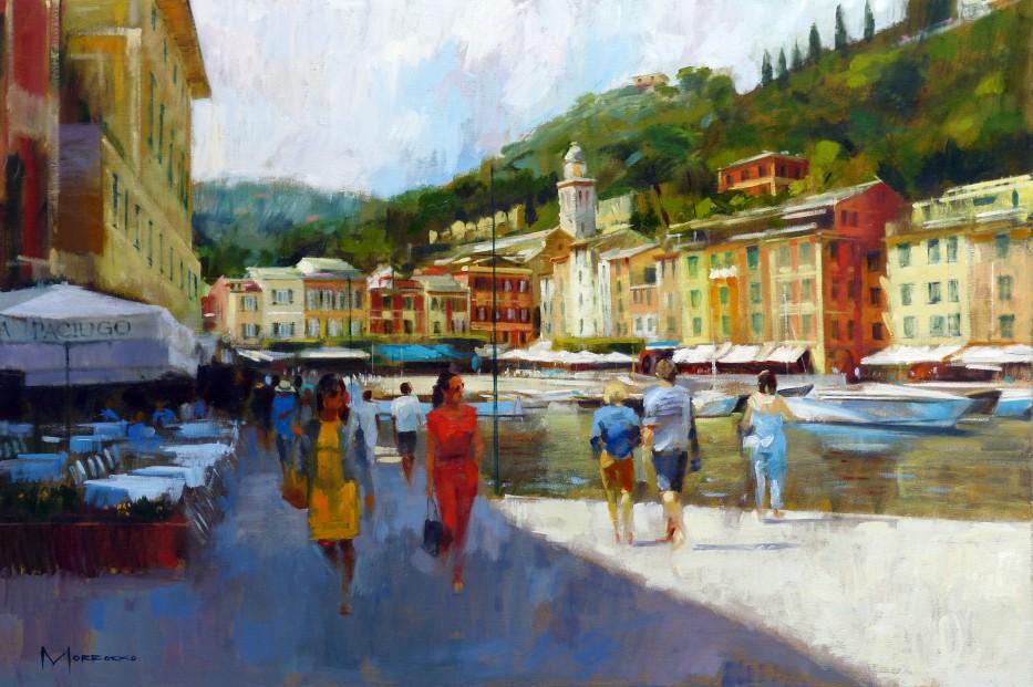 05.Jack Morrocco_Original_ Oil on Canvas_Portofino_24x36
