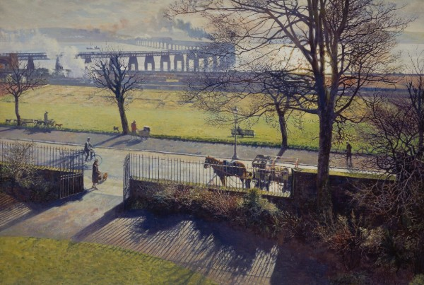 James McIntosh Patrick_The Tay Bridge from my Studio Window_LOW RES
