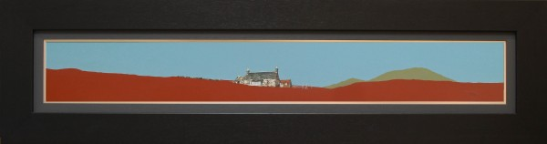Kirkton of Lude and Beinn a'Ghlo, Blair Atholl FRAMED- A SCOTTISH FARMHOUSE