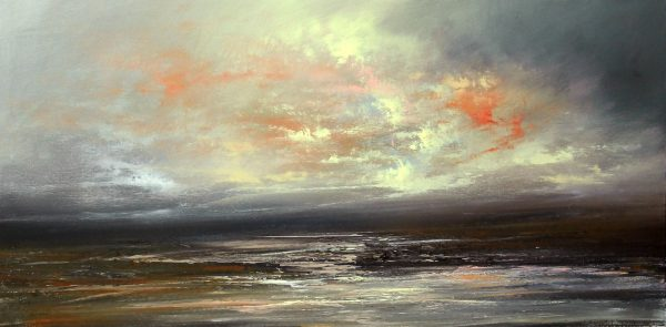 Philip Raskin_Original Acrylic_A Soft beginning_ 20x40 (1)