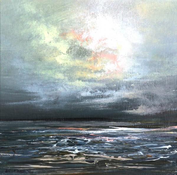 Philip Raskin_Original Acrylic_Island Fling I_8x8_