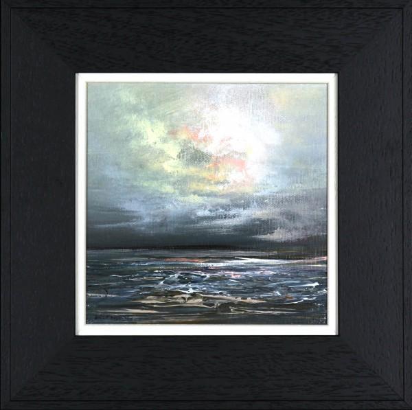 Philip Raskin_Original Acrylic_Island Fling I_8x8_framed 13x13 (2)