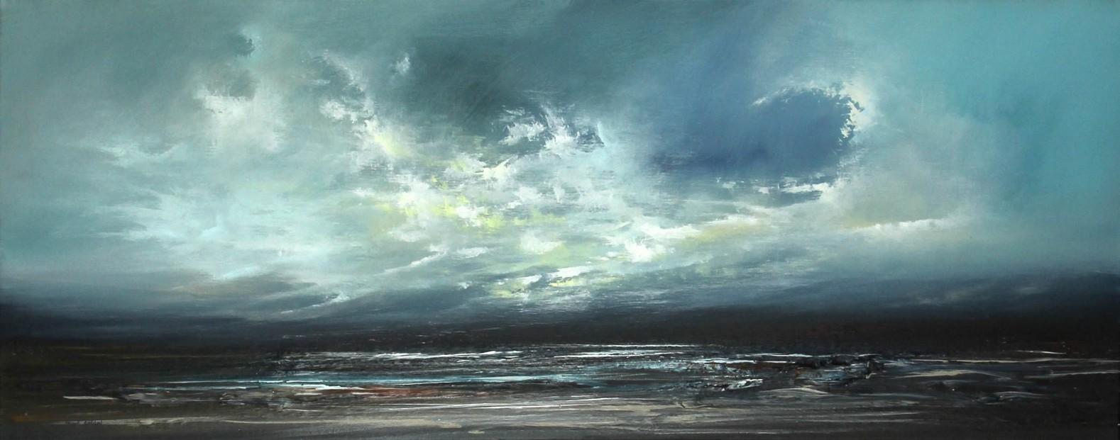 Philip Raskin_Original Acrylic_Time and Tide_16x40 (2)