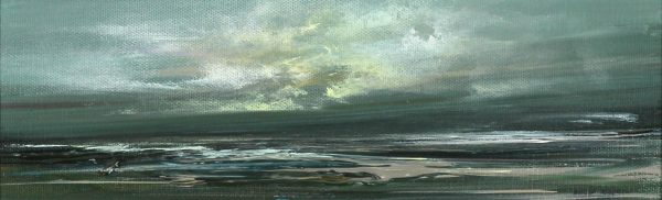 Philip Raskin_Original Acrylic_Toward Tiree_4x12_